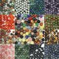 Wholesale 100pcs/pack 8mm Natural Stone Round Loose Beads Jewelry Beads,agate/jasper/rose quartz/tiger's eye beads,pick stone!