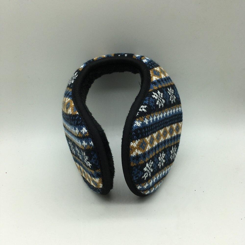 Knit Snowflake Warm Earmuffs Unisex  Earwarmer