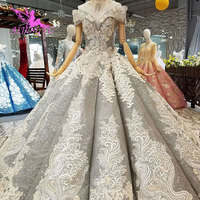 AIJINGYU Lace Wedding Dresses Luxury Gowns Vintage Mature American Accessories High Street Simple Long White Dress For Wedding
