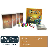 Cards Game Dixit 1 2 3 4 5 6 7 Hard Paper Box For Home Party