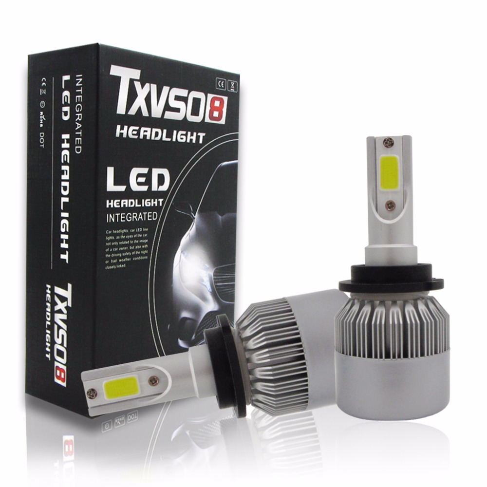 T2 D2S D4S Plug&Play Car LED Headlight Bulb 55W/Bulb 4600LM Cold White all-in-One Headlights Bulb Fog Light 6000K DC12V / DC24V auto care h7 cree led car headlight 40w 4000lm 6000k auto led all in one white bulb for automotive head light with play