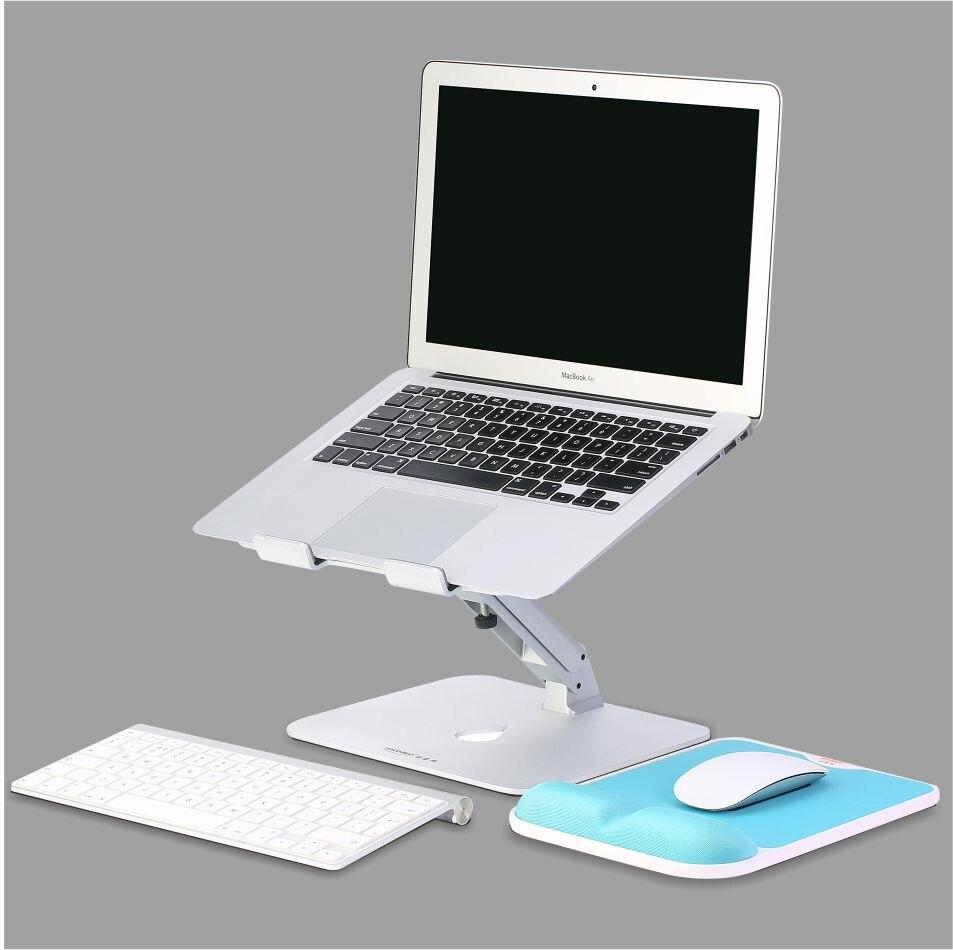 Support de bureau d'ordinateur portable en aluminium réglable en hauteur de DL-JK10