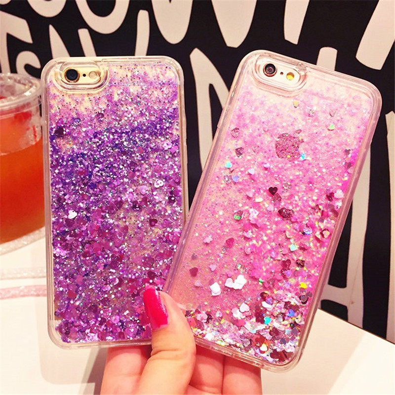 For <font><b>OPPO</b></font> <font><b>A33</b></font> A37 <font><b>Case</b></font> Silicon Bling Glitter Sequins Soft TPU Phone Cover For A77 <font><b>A33</b></font> A37 A39 A57 Dynamic Liquid Quicksand <font><b>Case</b></font> image