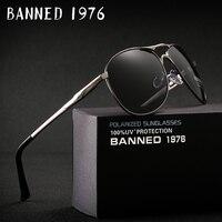 2017 üst Yüksek Kaliteli serin Polarize erkek Güneş Gözlüğü marka Tasarımcısı UV400 koruma Vintage sürüş güneş gözlükleri óculos
