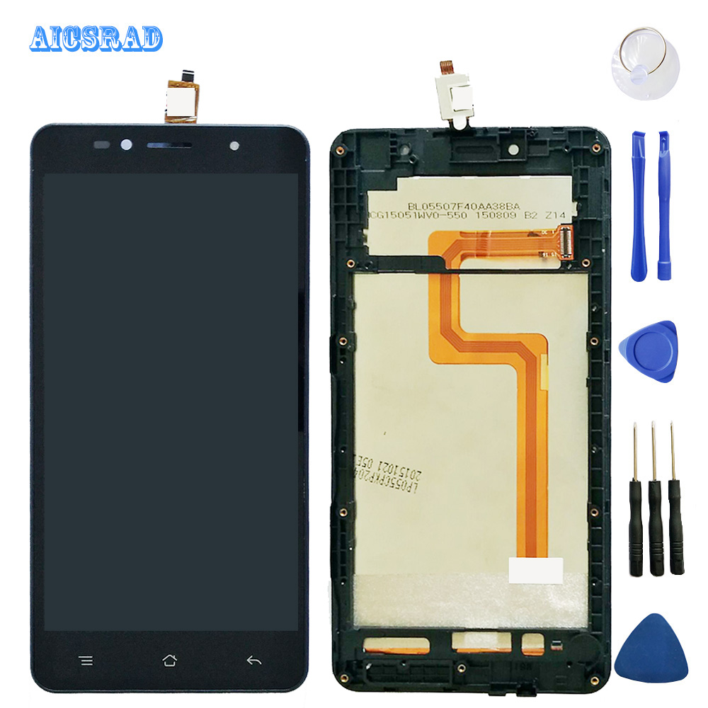 Good Quality 100 Guarantee For Siswoo c55 Longbow LCD Display LCD Screen And Touch Screen with