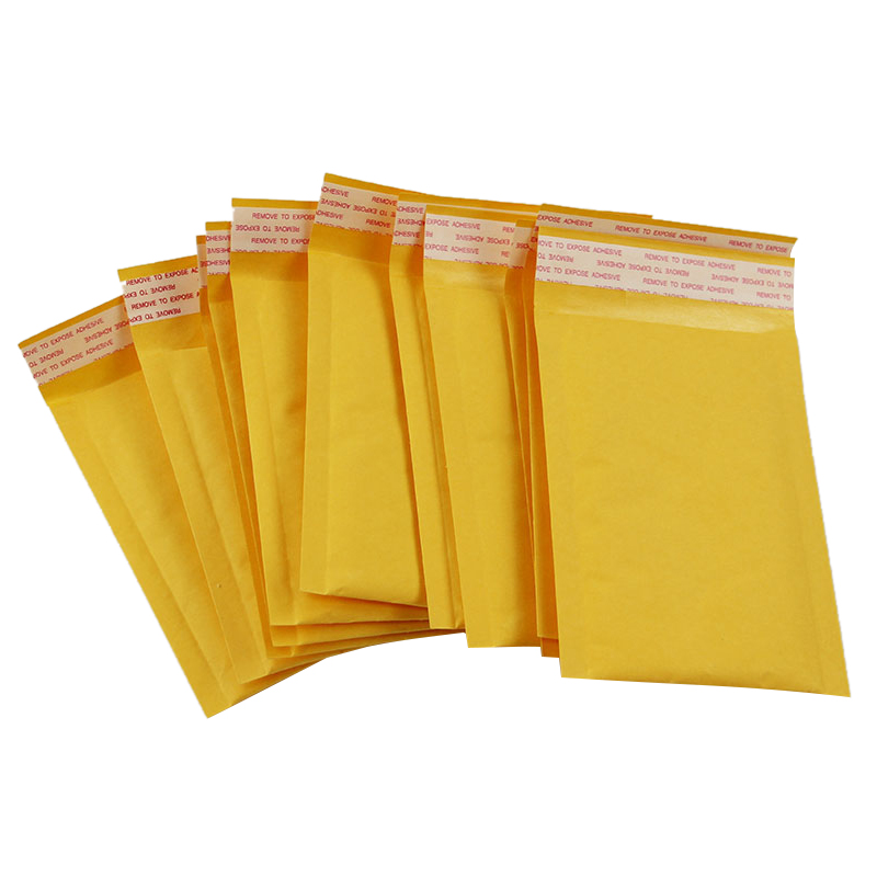10x Bubble Mailers Padded Envelopes Packaging Shipping Bags Kraft Bubble Mailing Envelope Bags 140*160mm