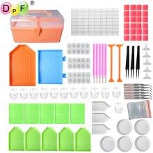 цена на DPF Diamond Painting Tools Box Kits DIY Rhinestones Boxes tools Box Kits 5D DIY Diamond Embroidery Accessories Boxes DIY tools