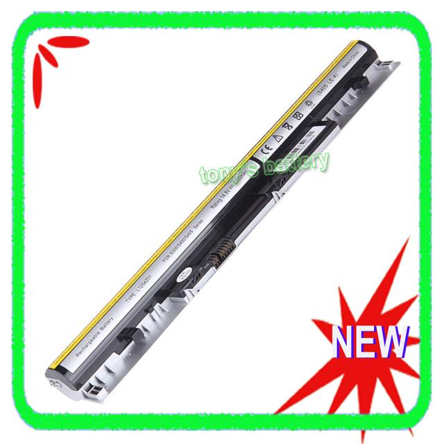 New Bateria Do Portátil Para Lenovo IdeaPad S400 S300 S310 S400U S405 S410 S415 S300-a S405-asi S300-bni L12S4Z01 4ICR17/65 prata