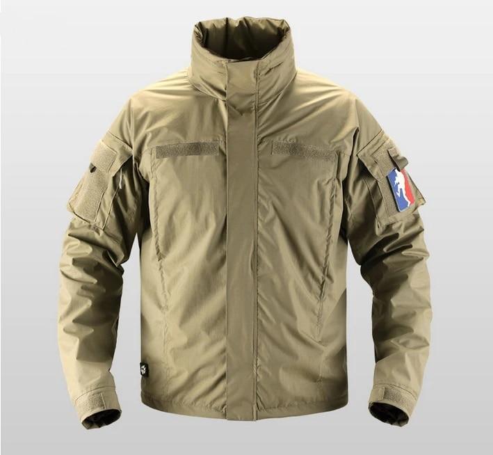 Tactical Veste Militaire Combat Parke Champ Manteaux Outdoor Imperméable Casual Tops