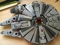 1381 unids Star Wars 05007 Millennium Falcon Juguetes Figuras building blocks marvel minis Juguete Niños 10467 Compatible con Leping