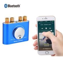 AIYIMA Mini เครื่องขยายเสียง Bluetooth 4.2 HiFi สเตอริโอ 2.0 ช่อง Desktop Audio Amplifiers Amp 60 W * 2 สำหรับ Home เสียง Theater