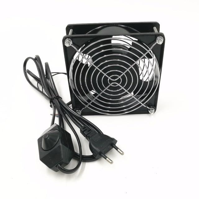 220V wentylator wyciągowy lutownica dmuchawa powietrza stacja lutownicza spawanie wędzarnia Smoking instrumenn fan blow regulowana prędkość
