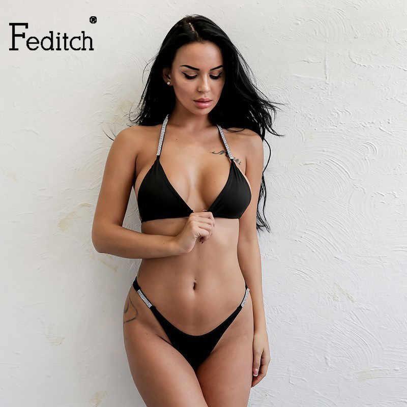 Feditch черный летний комбинезон без рукавов обтягивающий комбинезон однотонная праздничная одежда комбинезоны с цепочкой элегантные сексуальные женские комбинезоны
