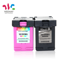 2pcs color Ink Cartridge Compatible for HP 122 XL for HP Deskjet 1000 1050 2000 2050 2050s 3000 3050A 3052A 3054 1010 1510 2540(China)