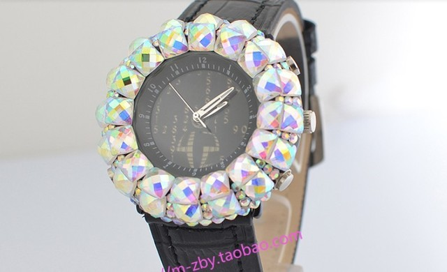 Free shipping innovative luxury brand crystal woman wristwatch fashional rhinestone watches for girl swiss movement