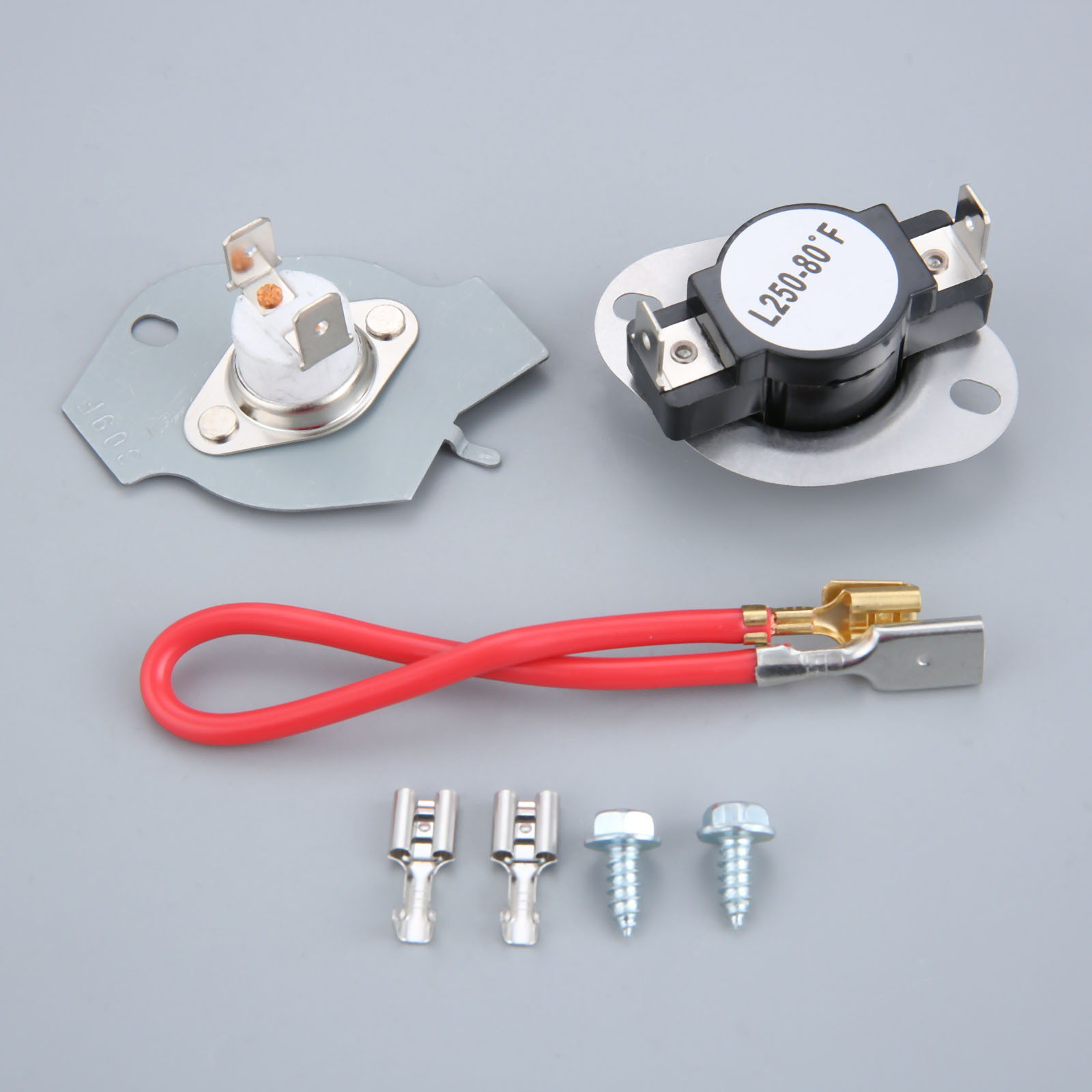 Dryer Thermostat Thermal Cut Out Kit Fits 279816 For Whirlpool Sears 3399848 AP3094244 PS334299 AP3094244