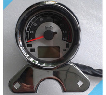 Universal Prince motorcycle Digital Instrumentation / Segment LCD dashboard motorcycle instrument Speedometer Tachometer parts