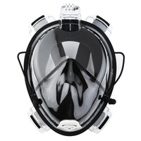 Professional Adult Full Face Diving Mask Comfortable Waterproof Underwater Diving Mask Anti Fog Full Face Diving