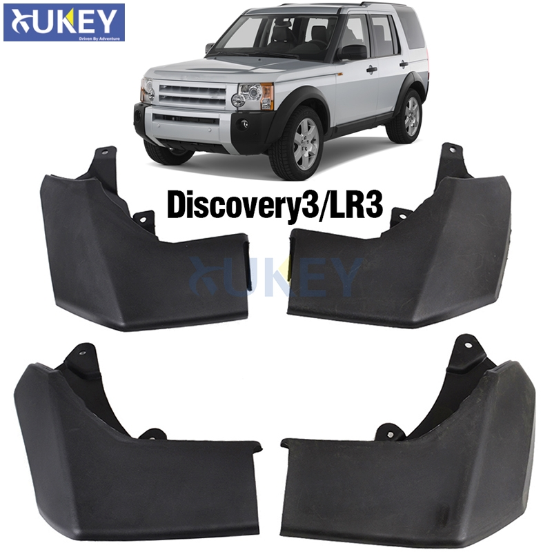 FIT FOR LAND ROVER DISCOVERY 3 2004 2005 2006 2007 2008 LR3 MUDFLAPS MUD FLAP SPLASH