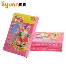 12 Colors Oven Baking Clay DIY Plasticine Modeling Clay Birthday Gift Toy for Handmade lovers Home craft