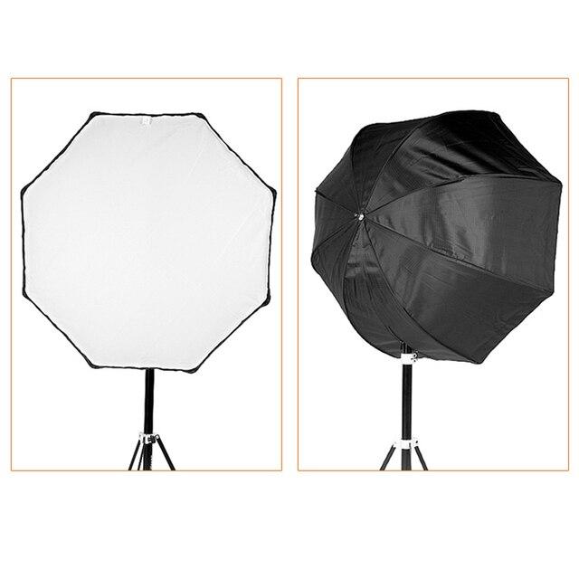 Godox Photo Studio 80cm/31.5in Portable Octagon Flash Speedlight Speedlite Umbrella Softbox Soft Box Brolly Reflector