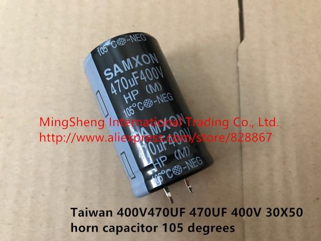 Original new 100% import replace CD296 400V470UF 470UF 400V 450V 30X50 35x50 35x40 horn capacitor 105 degrees Inductor