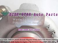 GT1749V 708639 708639 5010S Turbo Turbine Turbocharger For Renault Megane Scenic Volvo S40 V40 Nissan Primera