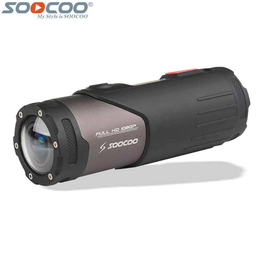 Appareil-photo vidéo d'action de Sport Wifi Original de SOOCOO S20WS étanche 10 M 1080 P casque de vélo Full HD Mini Sport de plein air DV