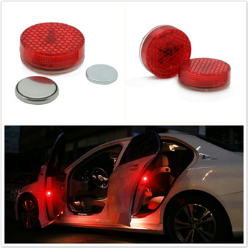 2x Car styling LED Door Warning lamp For BMW X5 X3 X6 E46 E39 E38 E90 E60 E36 F30 F30 E34 F10 F20 E92 E38 E91 E53 E87 M M3 M5 image