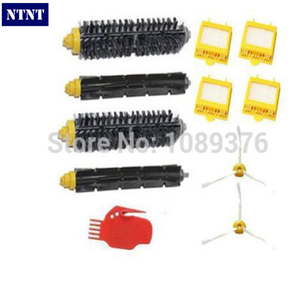 цены  NTNT Free Post New Bristle Beater Brush Filter Cleaning Tool Kit for iRobot Roomba 700 Series