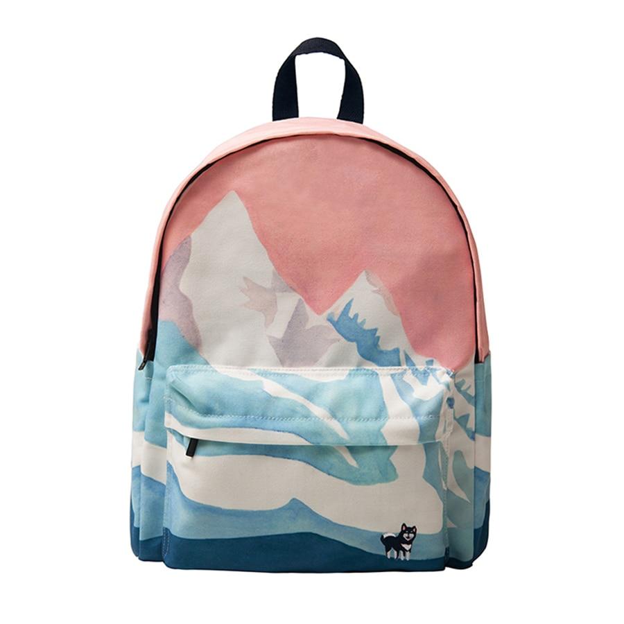 YIZI Original designed backpacks with digital printing and embroidery unisex FUN KIK