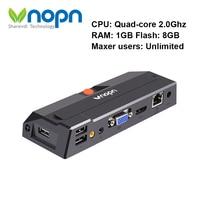 R1 Linux3.4 Thin Client Quad Core 2GHz RDP8.0 PC Station Computing Cloud Terminal Virtual Computer Zero Client 1G RAM 8G Flash
