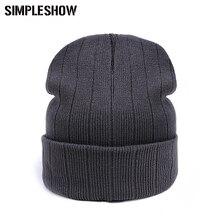 2016 Unisex Skullies Beanies Female Warm Hats  Winter Hat For Women Men Beanies Hat Cap Warm Women Cap Headgear Hot Sale