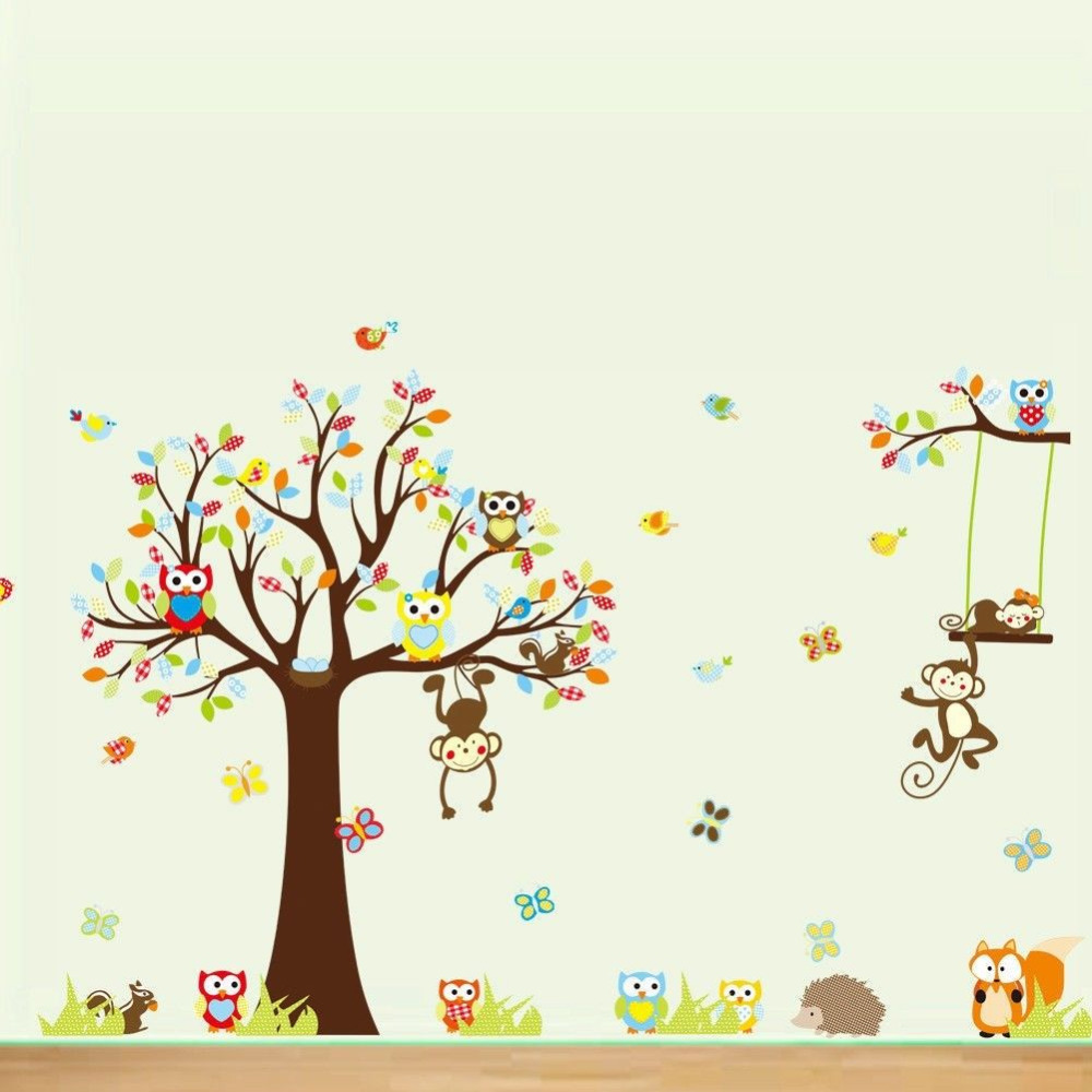 Jungle Stickers For Walls Images - Home Wall Decoration Ideas