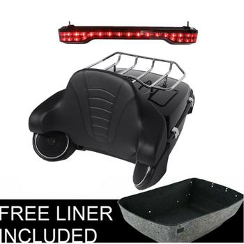 Motorcycle King Trunk LED Tail Light Speakers For Harley Tour Pak Road King Street Glide Road Glide Electra Glide 2014-2020