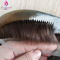 4 In Beautie Undetectable Natural Hairline Toupee/Toupet All Bleached Knots French lace Hair Replacement system For men