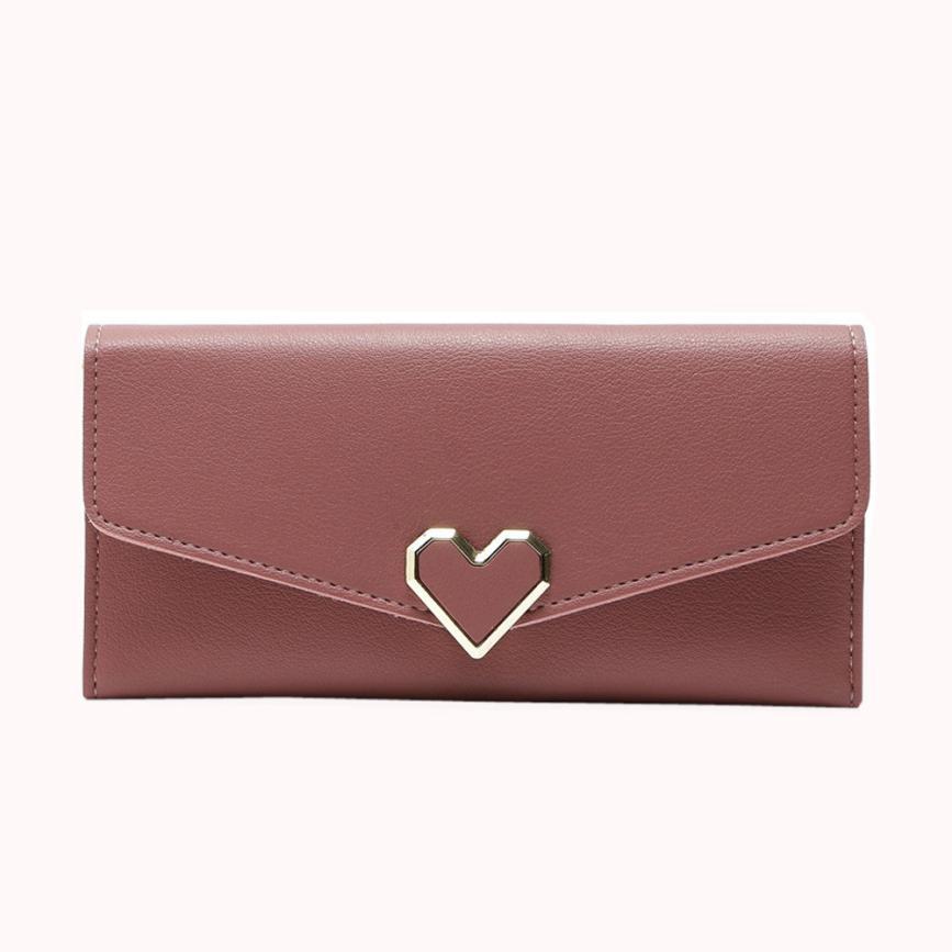 NEW XINIU Large Capacity Fashion Vintage Women Purse Female Slim Long Wallet Card Holder Bag Matte Leather Wallets Carteras 17/6