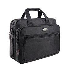 Brand Business Briefcase Laptop bag men handbag Oxford cloth
