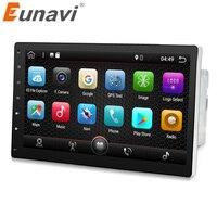 Eunavi 2 Din Quad Core 10 1 Android 7 1 2G RAM Car PC Radio Stereo