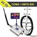 Amplifers sinal Display LED GSM 850 mhz Celular Signal booster 65dB Ganho UMTS850 Móvel impulsionador Repetidor Celular vendas Quentes