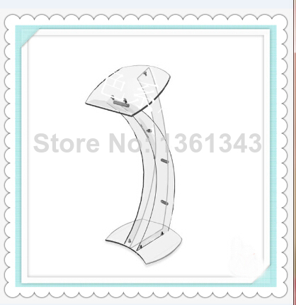 Hot selling/modern design acrylic lecternHot selling/modern design acrylic lectern