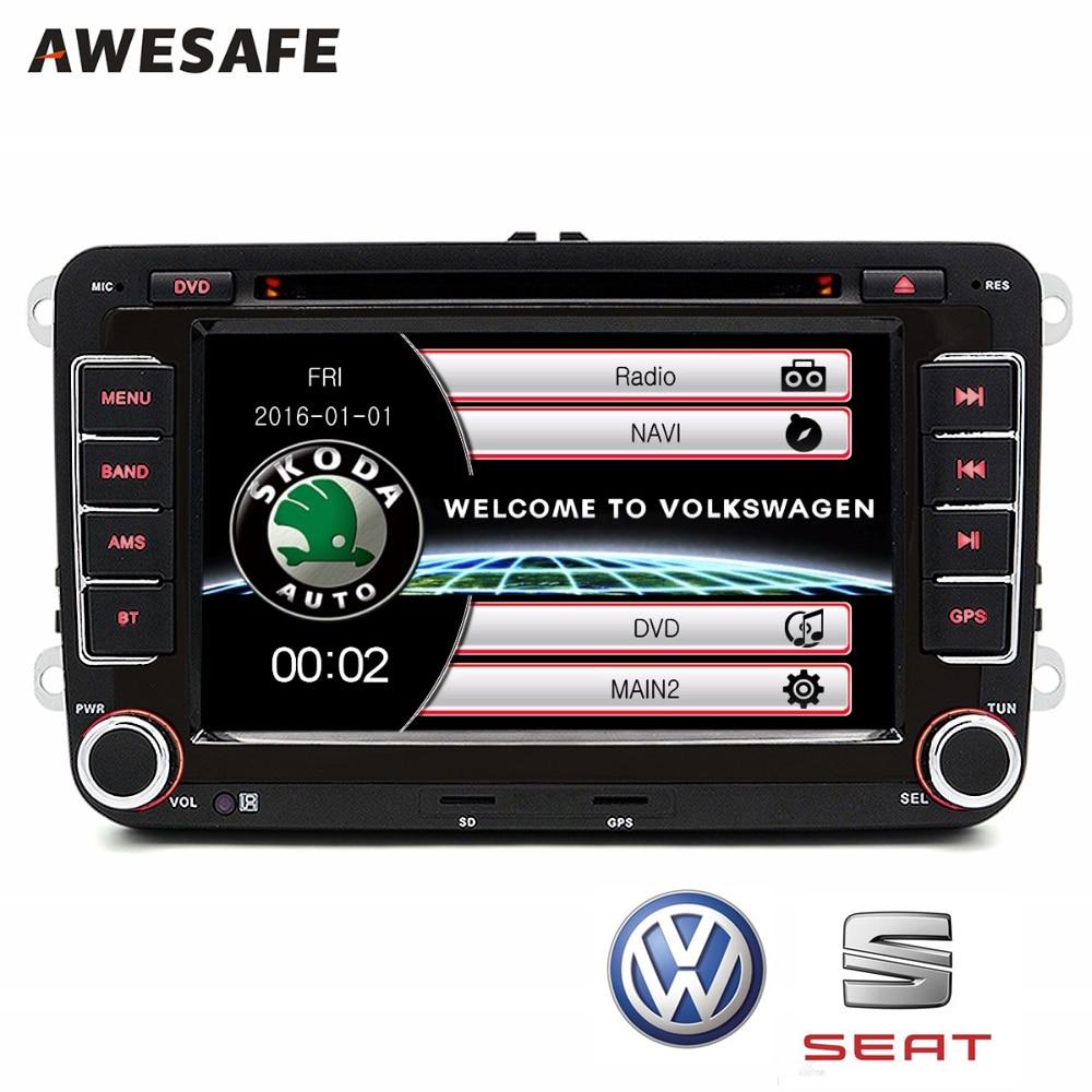 "imágenes para 2 din 7 ""Coche DVD GPS radio player Para VW/Skoda/Fabia Praktic/Fabia/Octavia/Yeti audio gps doble din pantalla táctil de coches stereo"