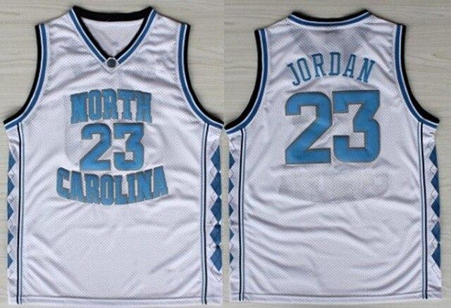 hot sale online 1c5ba 15320 Michael Jordan Jersey 23 North Carolina Tar Heels Basketball ...