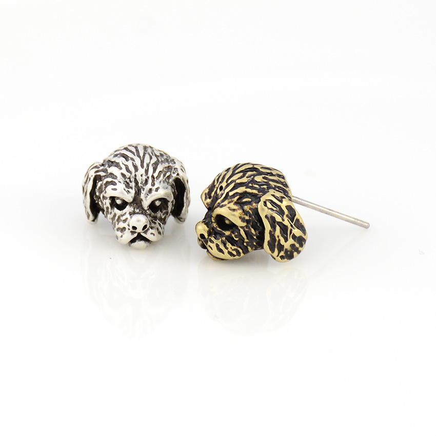 Punk Vintage Shih Tzu Dog Pet Earring Animal Brincos Love Earrings For Women Jewelry Black Friday Deals Christmas Gift For Lover