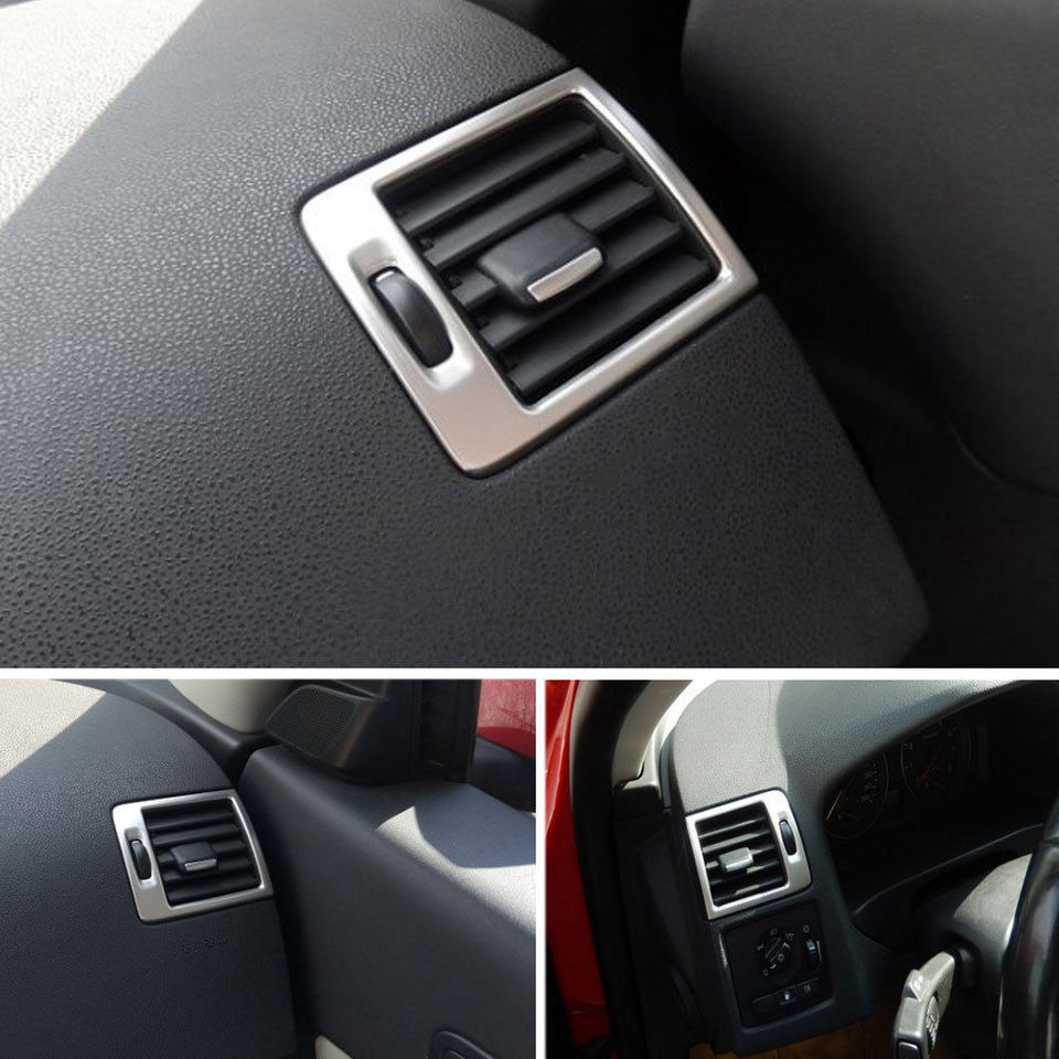Center Console Air Vents Decoration Frame Trim For Volvo C30 S40 C70 2006-2013