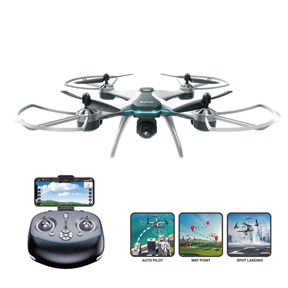 FX-8G 6-axis WIFI FPV RC Drone With 720P/1080P HD Camera Follow Me Onekey Return Altitude Hold Headless Mode GPS Quadcopter wltoys v686g 4ch 5 8g fpv real time transmission 2 4g rc quadcopter with 2 0mp camera headless mode auto return function us plug