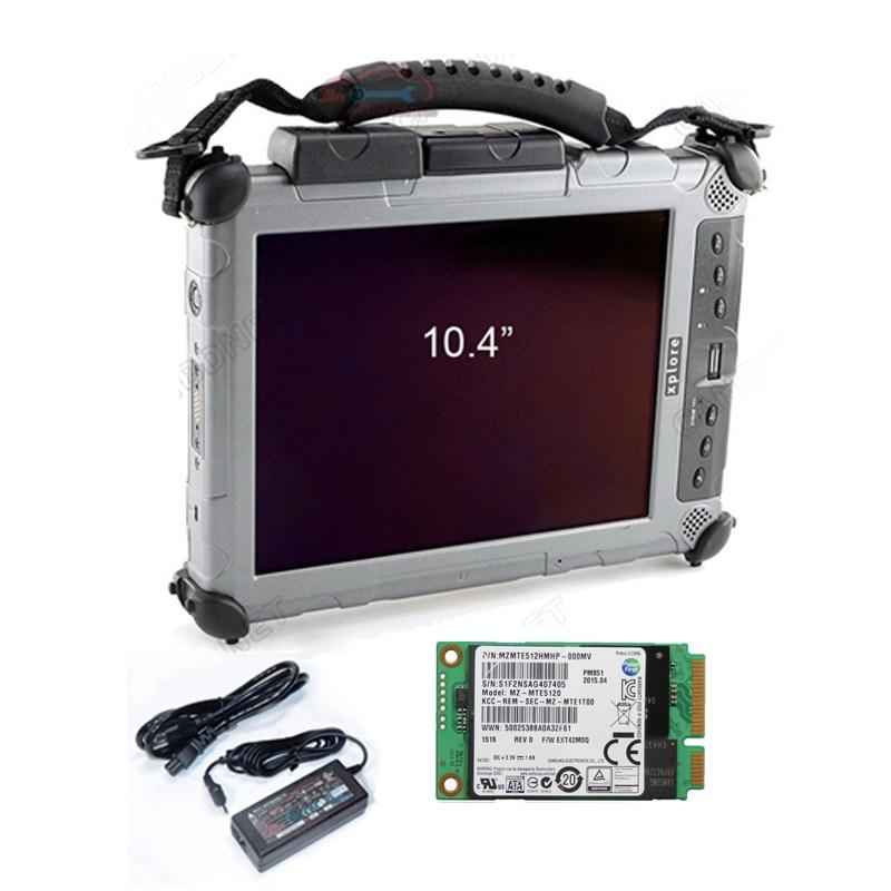 2019 Più Nuovo MB Star C4 Software SSD Software di Diagnostica multi-language 2018.12 V installato in Xplore ix104 Tablet Rugged i7cpu & 4g