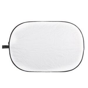 Image 5 - Godox 5 1 で 100*150 センチメートル背景ボードラウンド長方形リフレクター折りたたみ照明ディフューザーディスク黒シルバーゴールド白