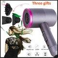 Фен для волос с негативными ионами 3 в 1 многофункциональный инструмент для укладки волос с 3 насадками для укладки волос фен стайлер для вол...