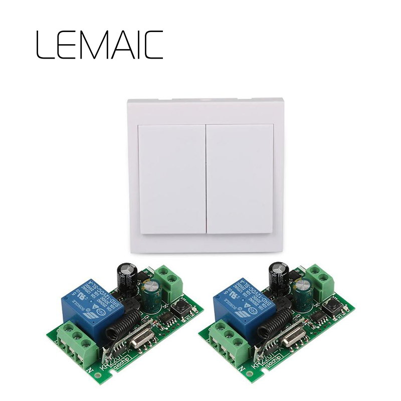 86 Wall Panel Switch Remote Control Transmitter Control RF TX Relay Receiver Module 433 MHz Wireless Switch smart home 433mhz 1 channel wireless remote control switch relay receiver 433 mhz rf 3ch 86 wall panel remote transmitter